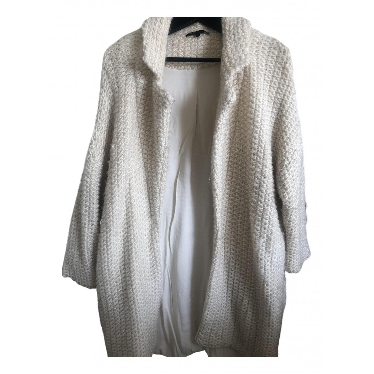 Maje - Veste Fall Winter 2019 pour femme en laine - ecru