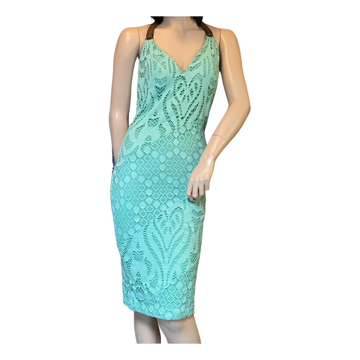 Versace - Robe   pour femme - turquoise