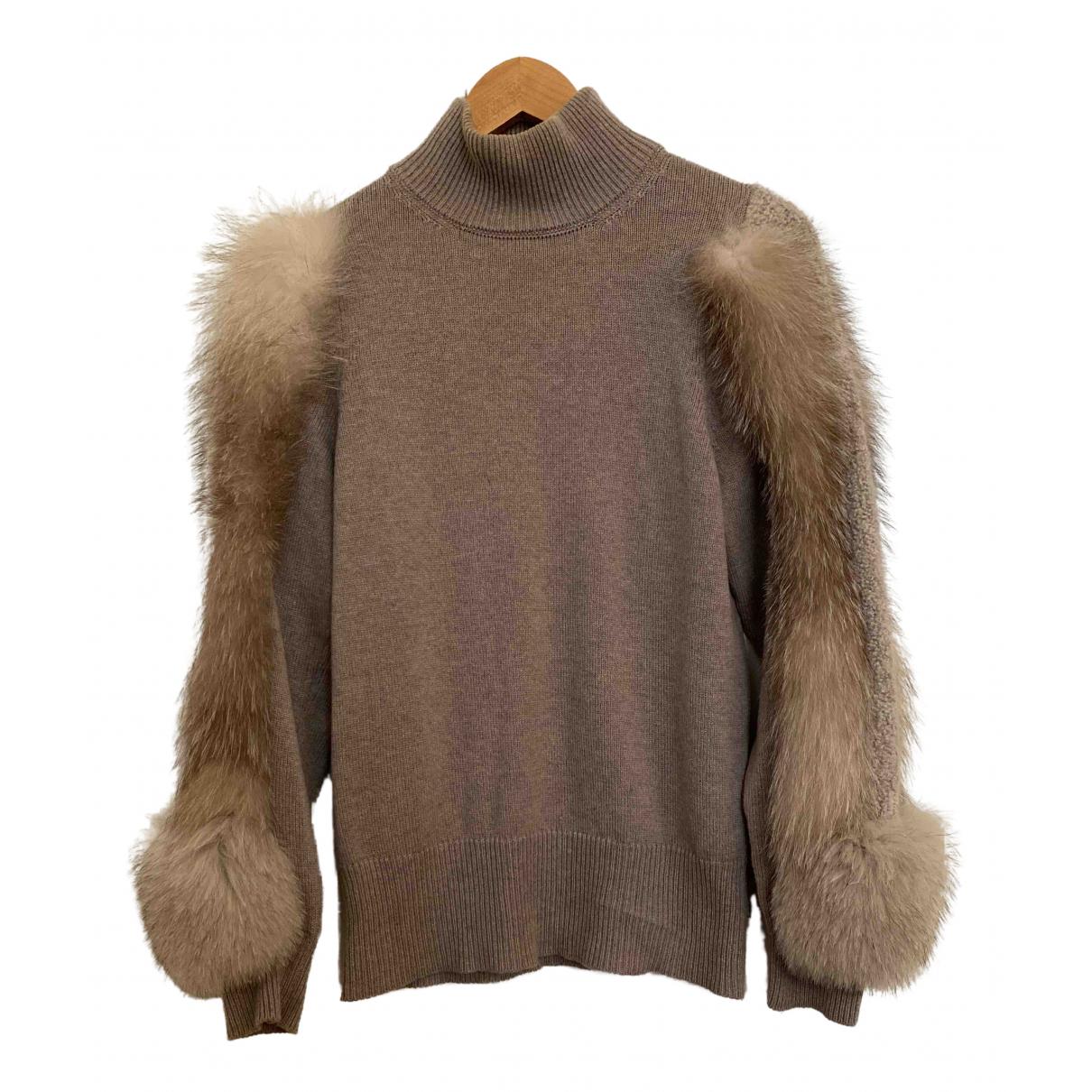 Falconeri N Beige Cashmere Knitwear for Women M International