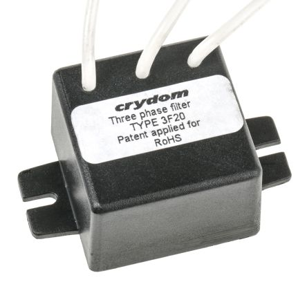 Sensata / Crydom SSR Filter EMI Noise Suppression Filter for use with Crydom Three Phase SSR's