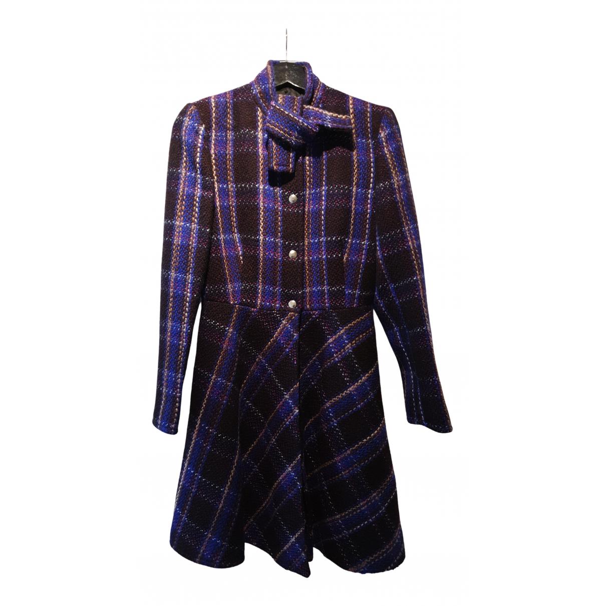 Miu Miu N Grey Wool coat for Women 42 IT