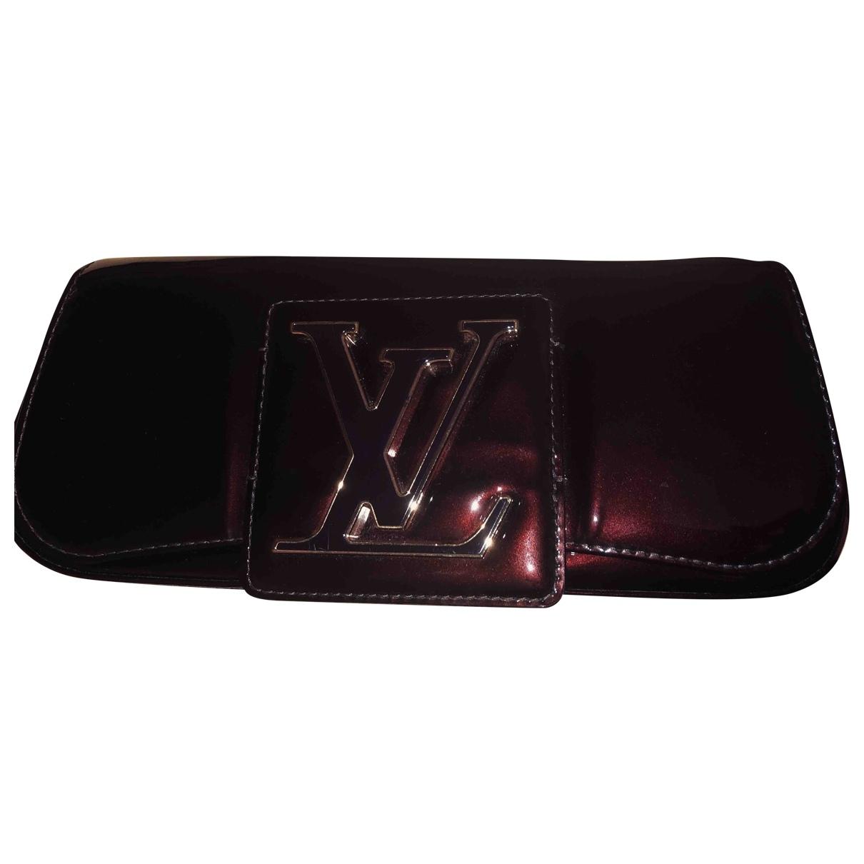Louis Vuitton - Pochette Sobe pour femme en cuir verni