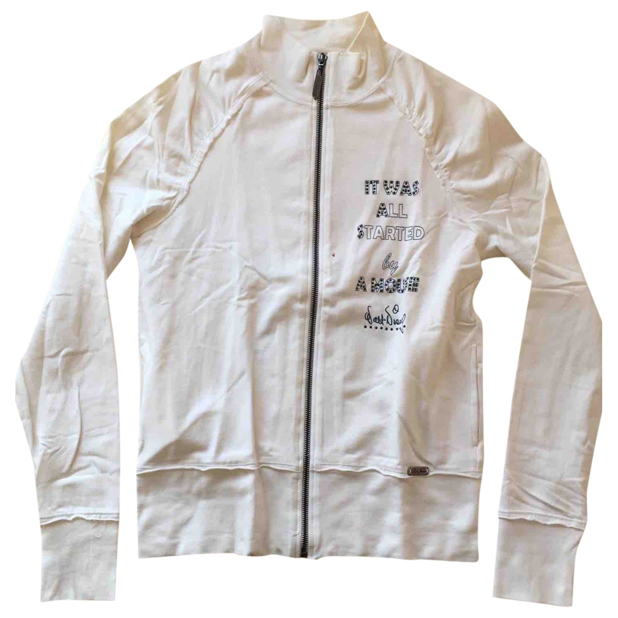 Liu.jo \N White Cotton Knitwear for Women 44 IT