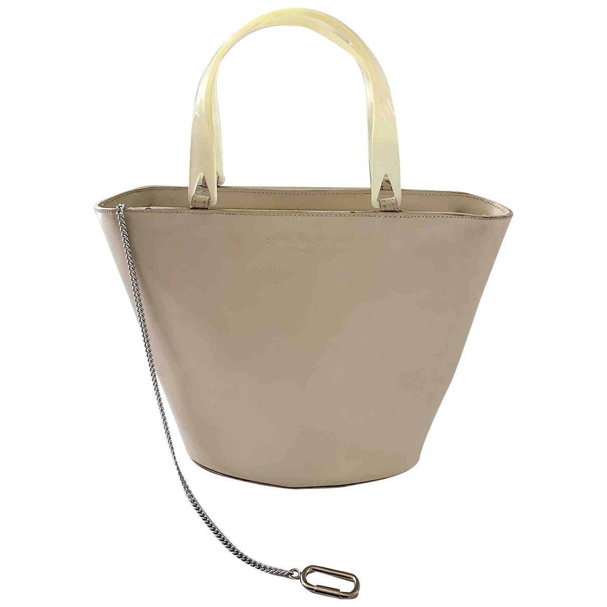 Sonia Rykiel \N Handtasche in  Ecru Leder