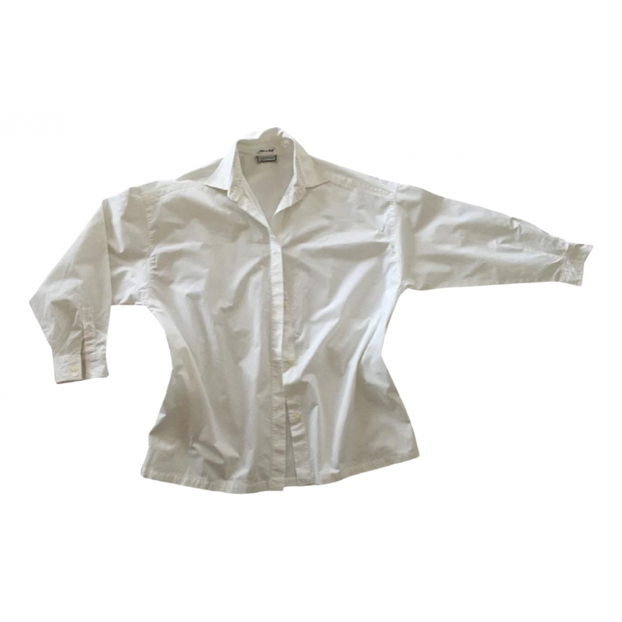 Gianni Versace \N White Cotton  top for Women 42 IT