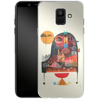 Samsung Galaxy A6 Silikon Handyhuelle - Sound of Joy von Victoria Topping