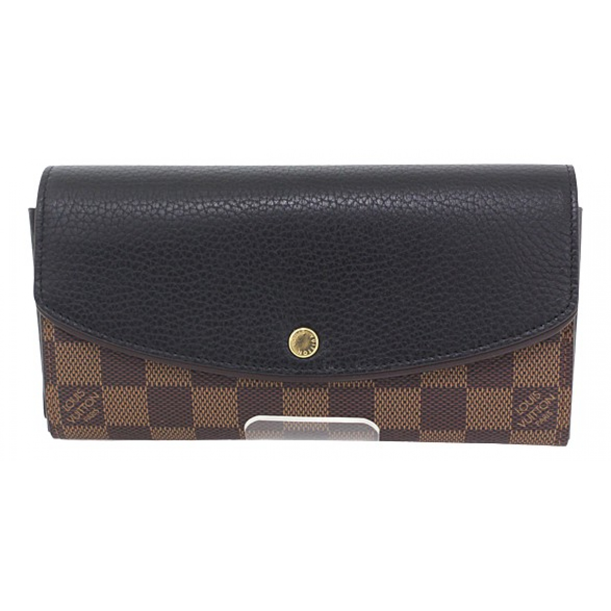 Louis Vuitton Normandy Brown Cloth wallet for Women \N