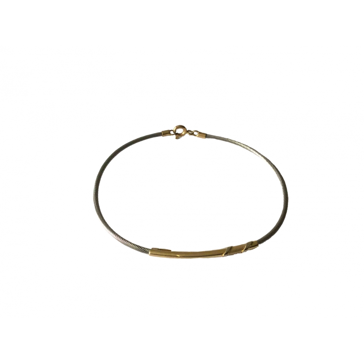 Non Signe / Unsigned Jonc Armband in Gelbgold