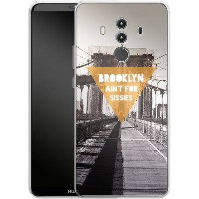 Huawei Mate 10 Pro Silikon Handyhuelle - BKLYN Aint For Sissies von Statements