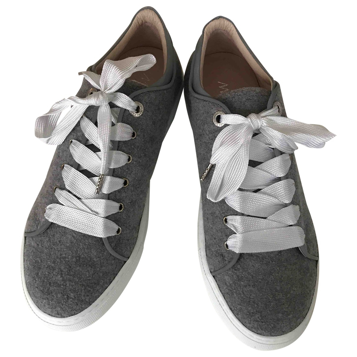 Marc Cain \N Grey Cloth Trainers for Women 5.5 UK