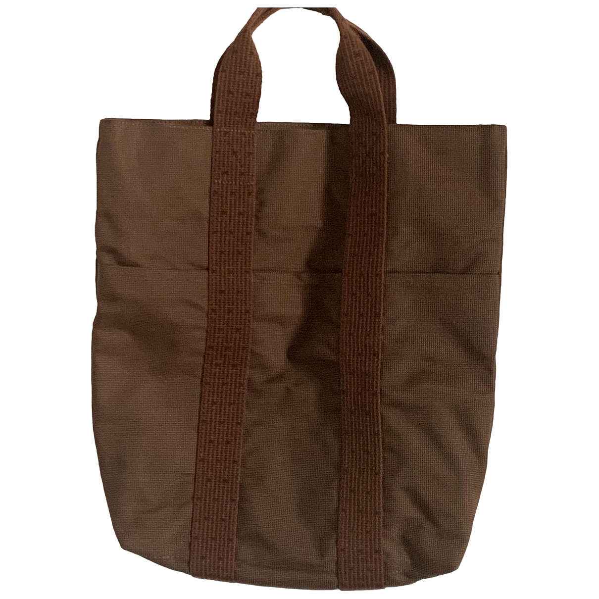 Hermès Herline Brown Cloth bag for Men \N