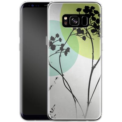 Samsung Galaxy S8 Silikon Handyhuelle - Abstract Flowers 2 von Mareike Bohmer