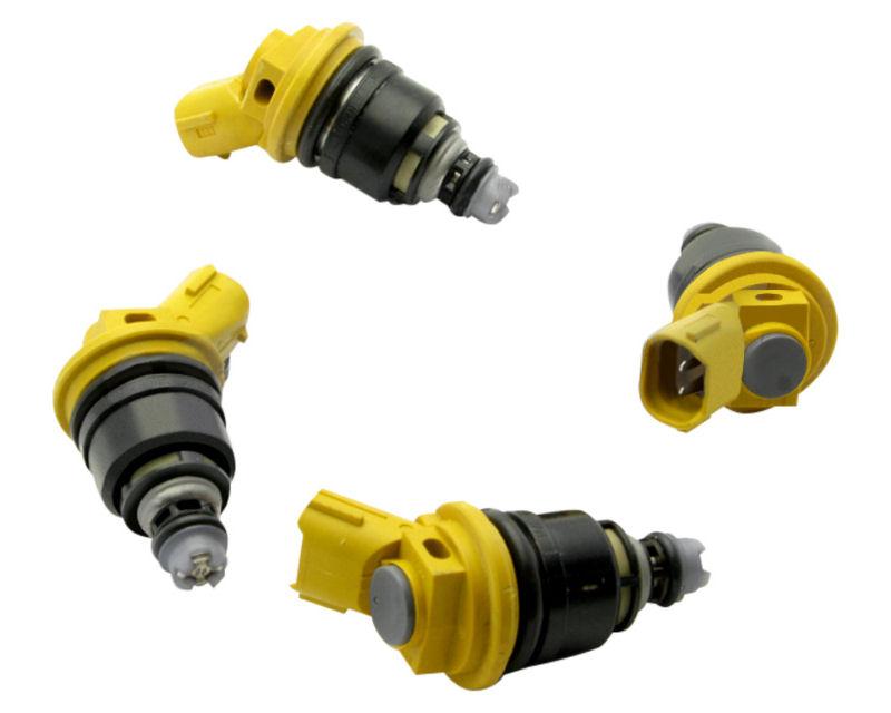 Deatschwerks 02J-01-0950-4 Set of 4 950cc Side Feed Fuel Injectors Nissan 240SX S13 89-94