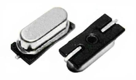 Euroquartz 3.6864MHz Crystal ±30ppm SMD 2-Pin 12.4 x 4.5 x 4.2mm