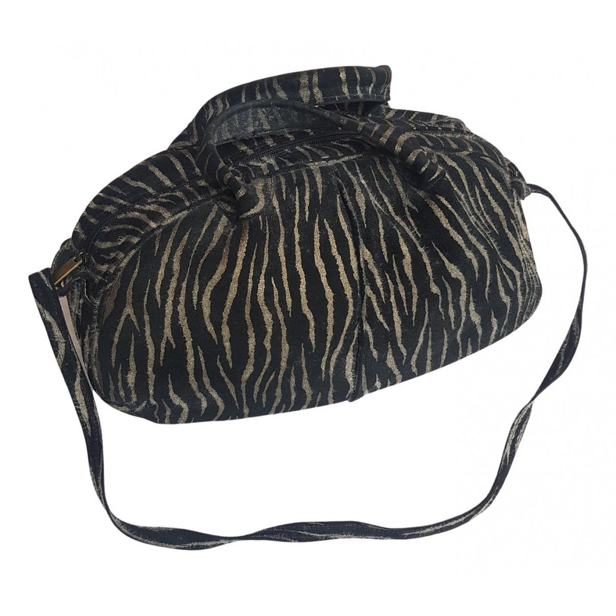 Roberto Cavalli N Beige Suede handbag for Women N