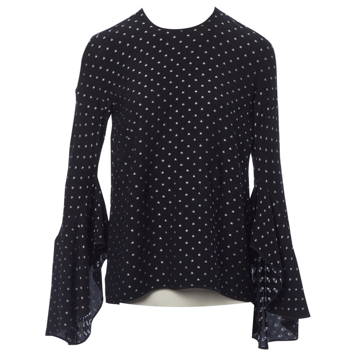 Givenchy \N Top in  Schwarz Seide