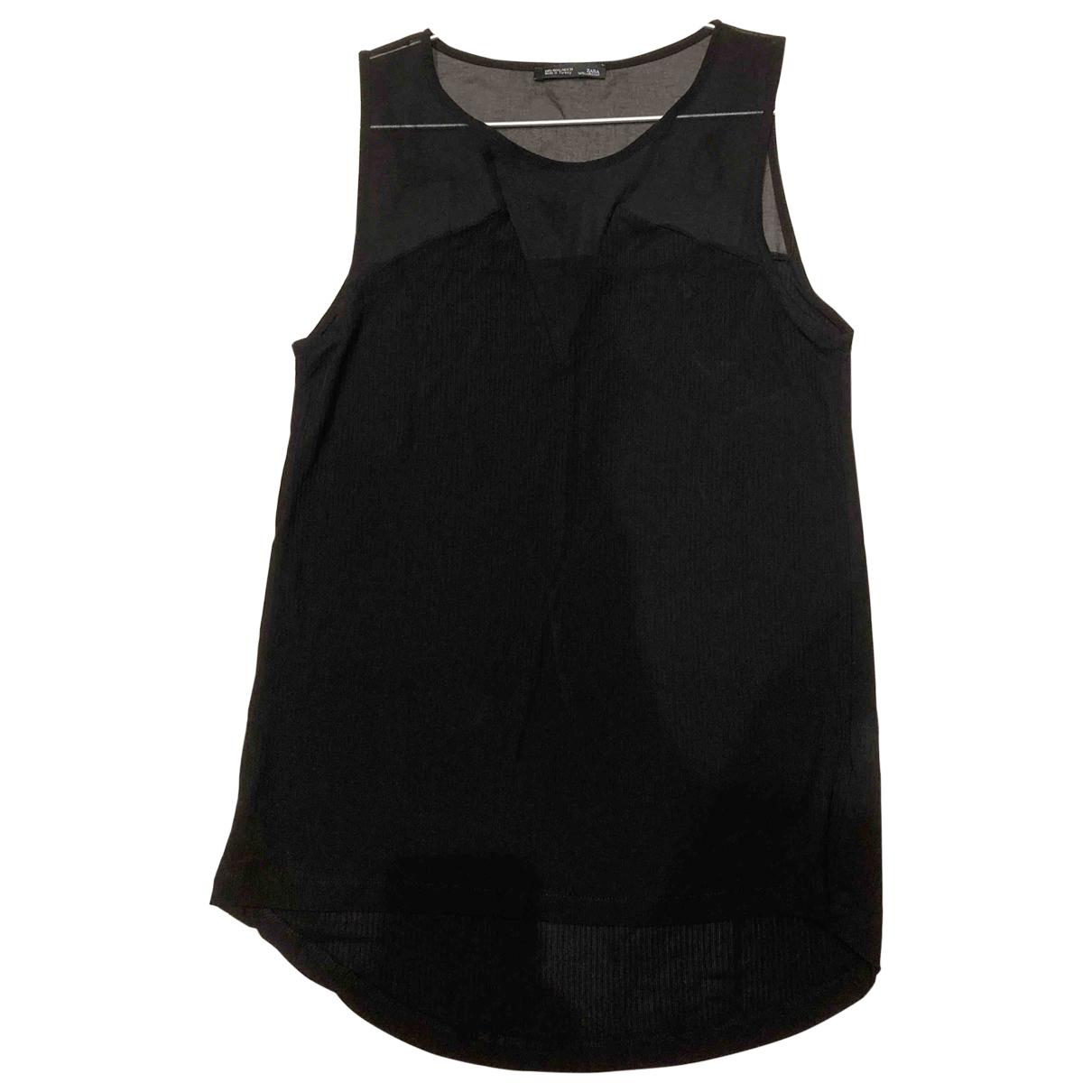 Zara \N Black Cotton  top for Women L International