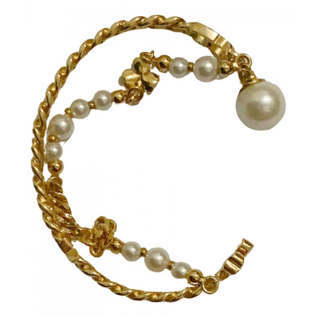 Dior - Bracelet Dior Oblique pour femme en plaque or - dore