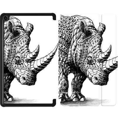 Amazon Fire 7 (2017) Tablet Smart Case - Rhinoceros von BIOWORKZ