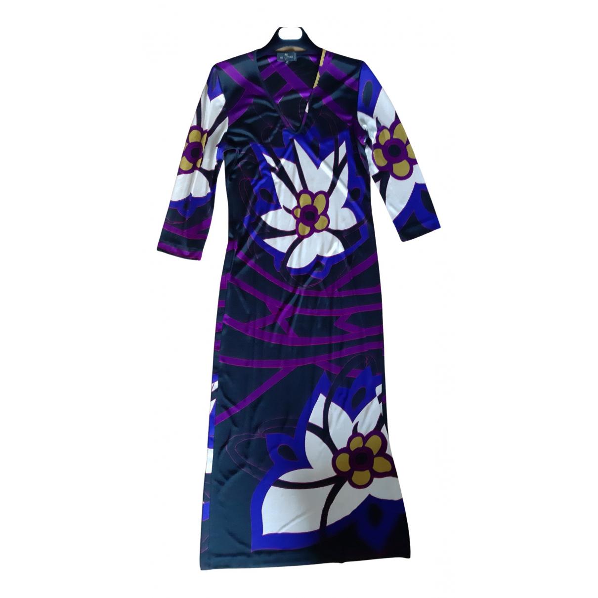 Etro \N Kleid in  Bunt Polyester