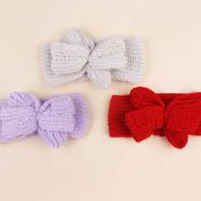 3pcs Baby Plain Headband