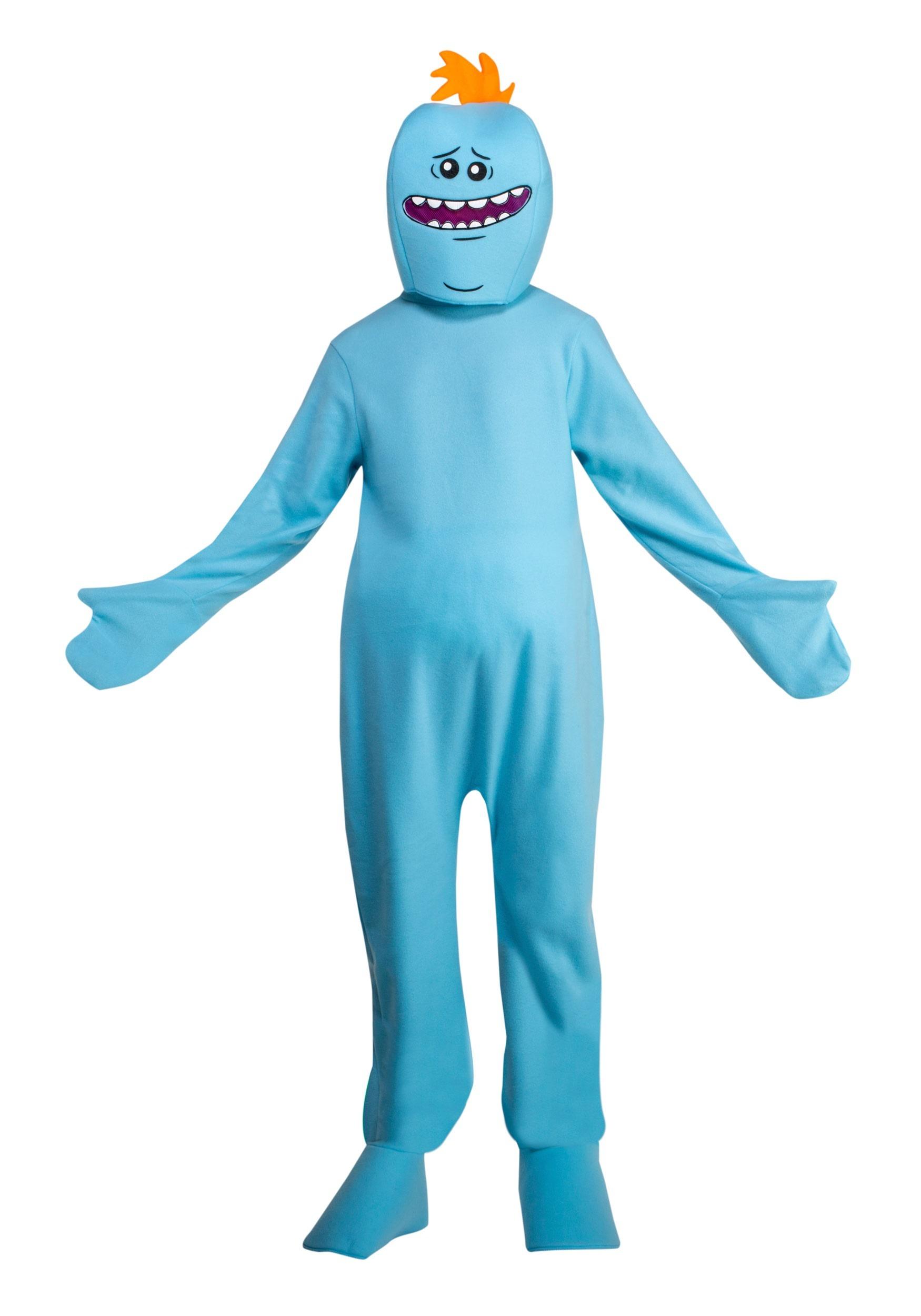 Mr. Meeseeks Rick and Morty Adult Costume