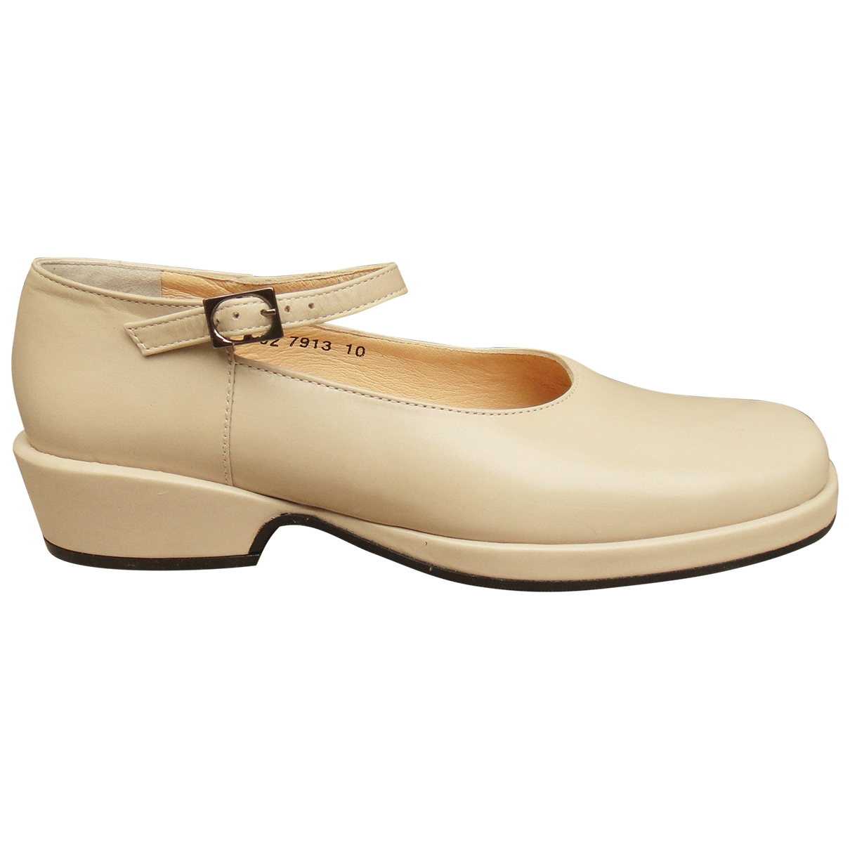 Robert Clergerie \N Beige Leather Flats for Women 5 US