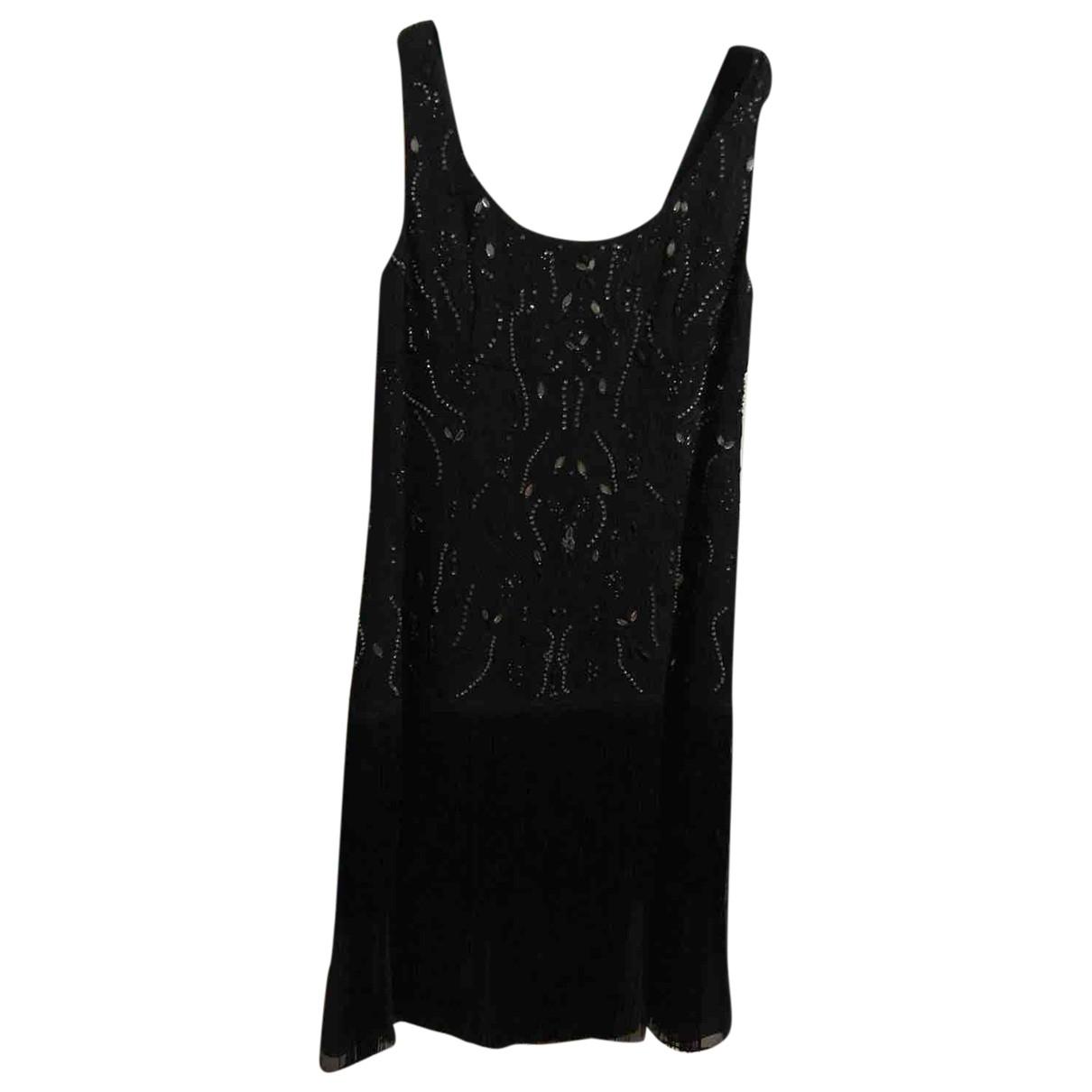 Laurel \N Kleid in  Schwarz Seide