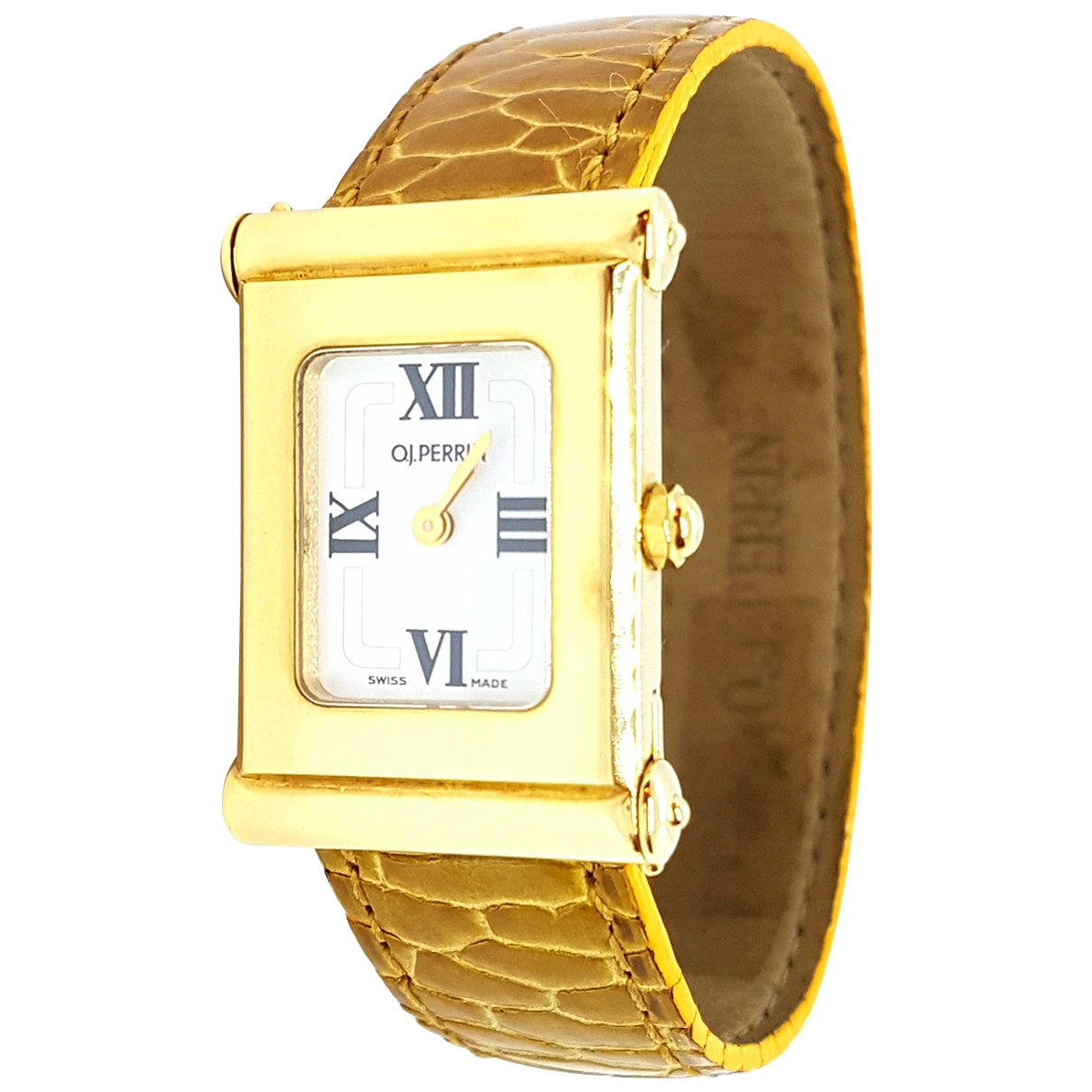 O.j. Perrin \N Uhr in  Gold Gelbgold