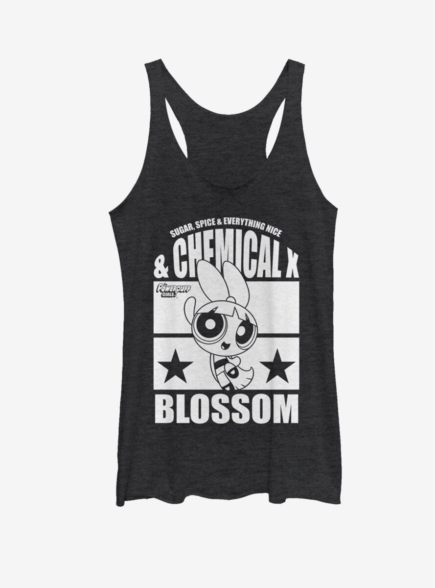 Power Puff Girls Chemical X Blossom Womens Tank