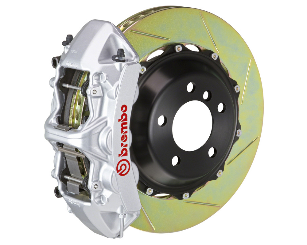 Brembo GT 380x32 2-Piece 6 Piston Silver Slotted Front Big Brake Kit