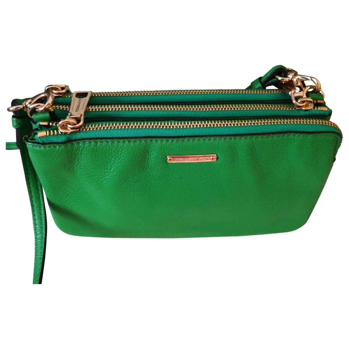 Rebecca Minkoff \N Handtasche in  Gruen Leder