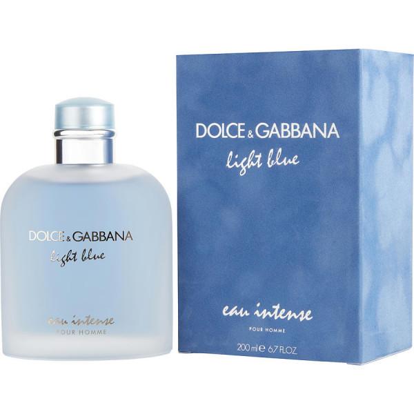 Light Blue Pour Homme Eau Intense - Dolce & Gabbana Eau de toilette intensa en espray 200 ML