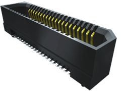 Samtec , ERF8 0.8mm Pitch 20 Way 2 Row Vertical PCB Socket, Surface Mount, Solder Termination (375)