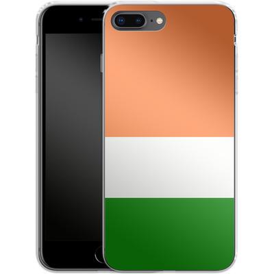 Apple iPhone 8 Plus Silikon Handyhuelle - Ireland von caseable Designs