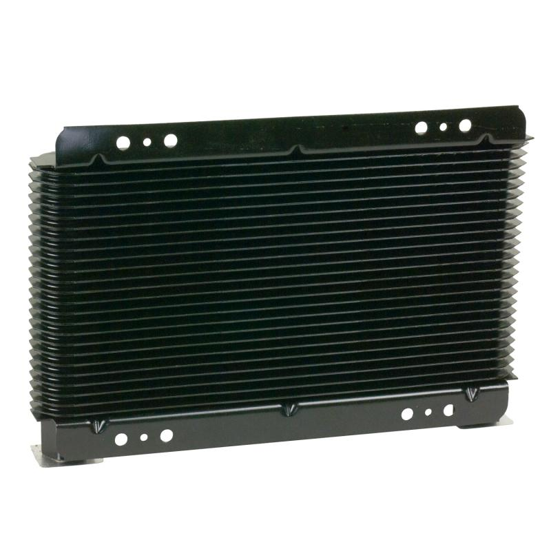 B&M Cooler, Supercooler Small 15,000 BTU Rating, NPT Fittings, Plate Type, Black