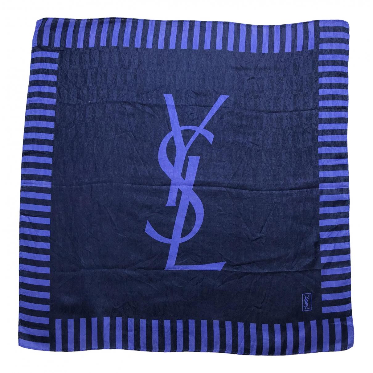 Yves Saint Laurent - Carre   pour femme en soie