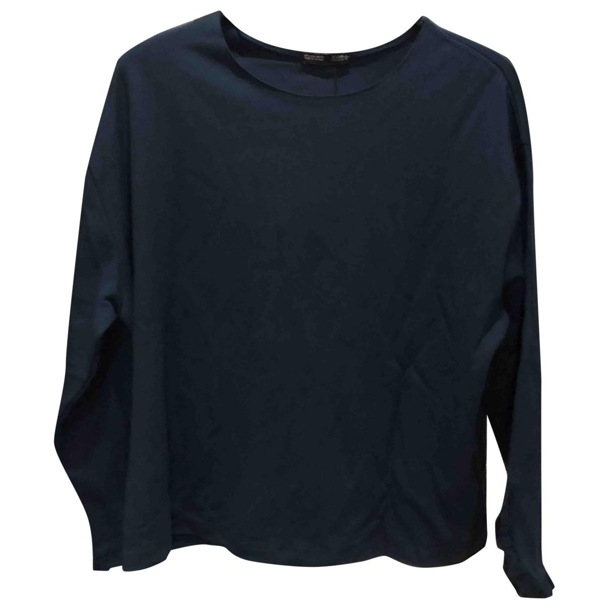 Zara \N Blue Cotton  top for Women L International