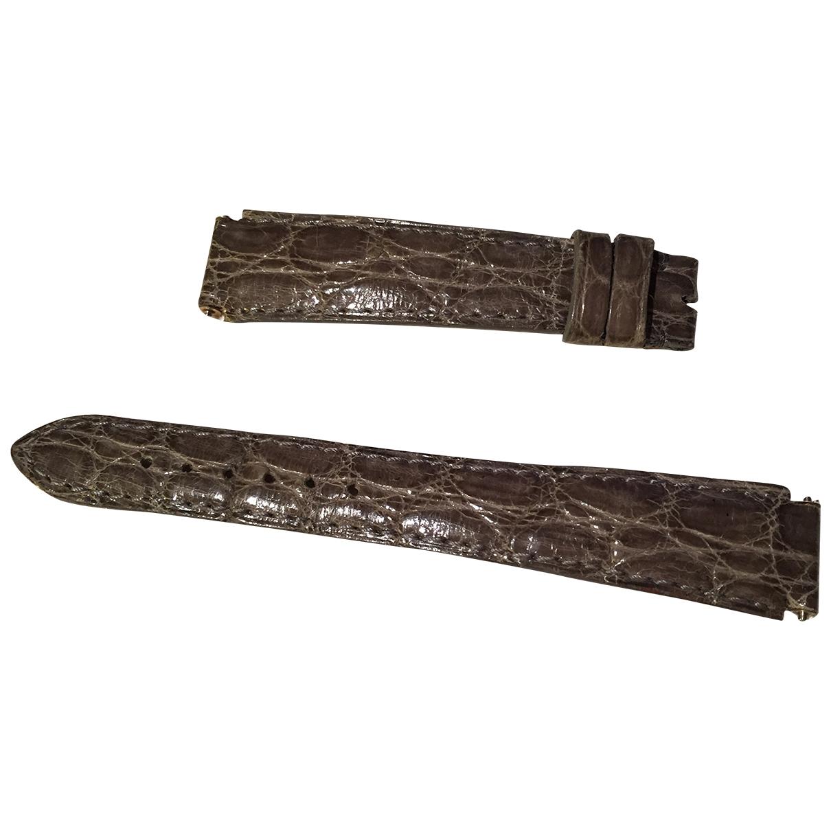 Boucheron - Bracelet   pour femme en cuir exotique - gris