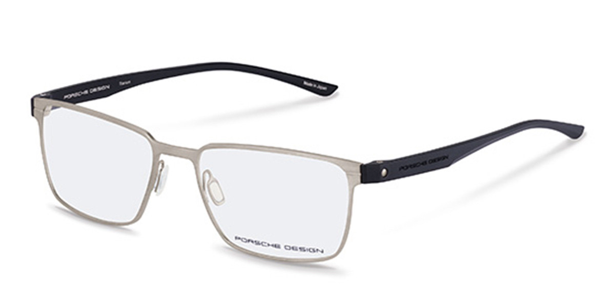 Porsche Design P8354 D Mens Glasses Silver Size 54 - Free Lenses - HSA/FSA Insurance - Blue Light Block Available
