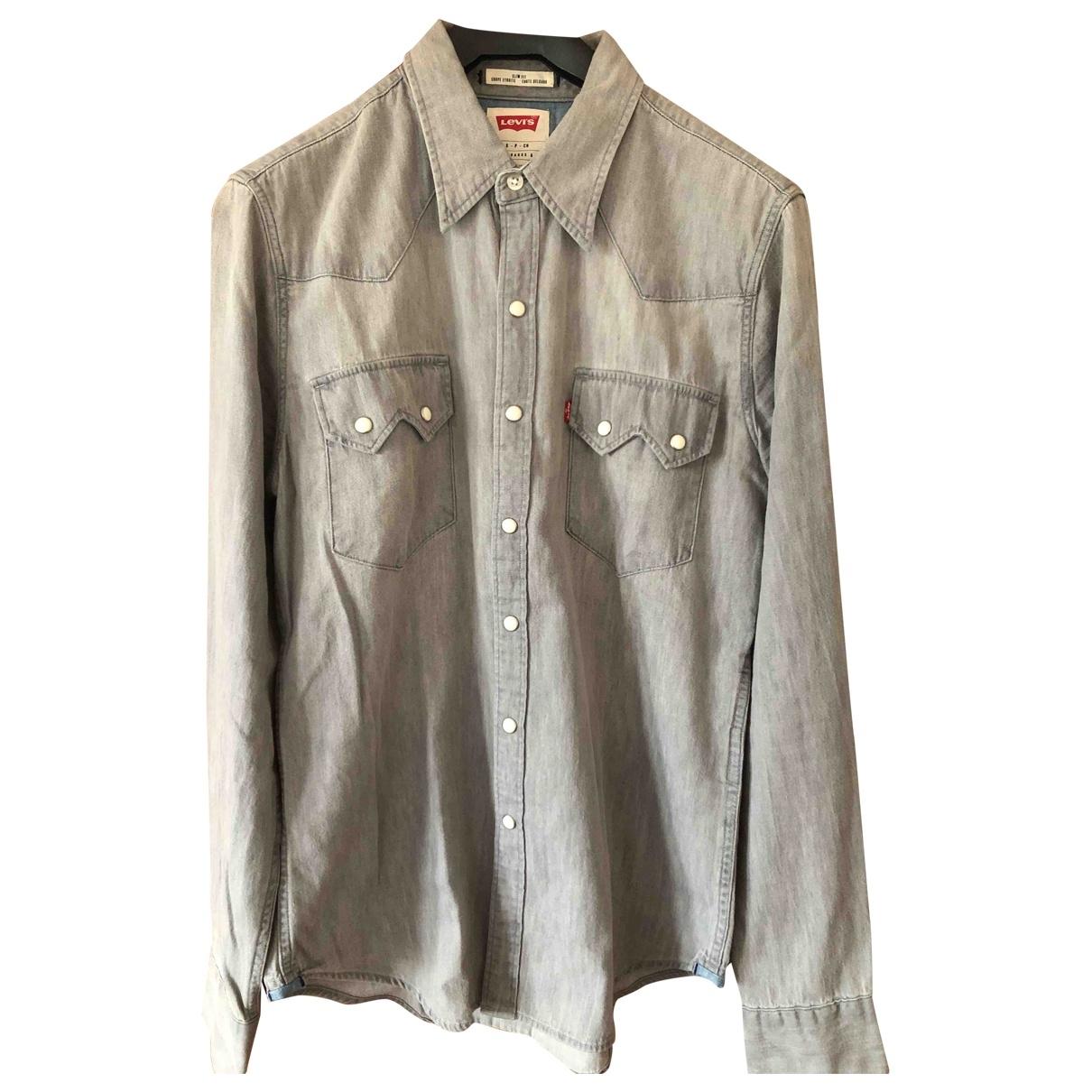 Levi's \N Grey Denim - Jeans Shirts for Men S International