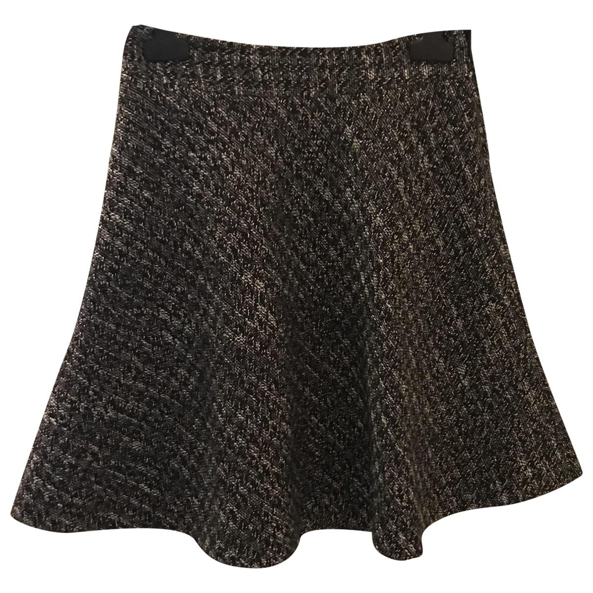 Red Valentino Garavani \N Black Wool skirt for Women 36 FR