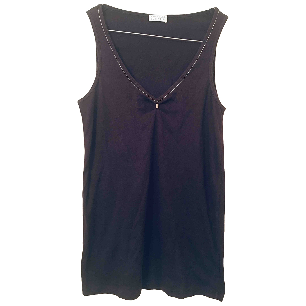 Brunello Cucinelli \N Top in  Blau Baumwolle