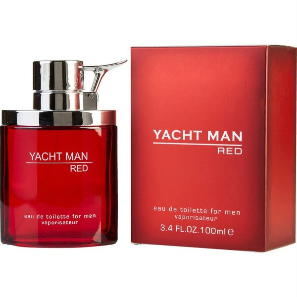 Yacht Man Red - Myrurgia Eau de toilette en espray 100 ML