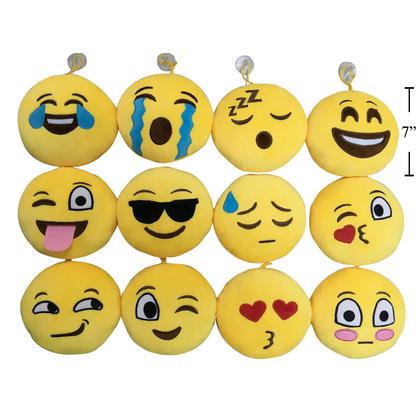 Emoji Soft Ornament avec ventouse 7