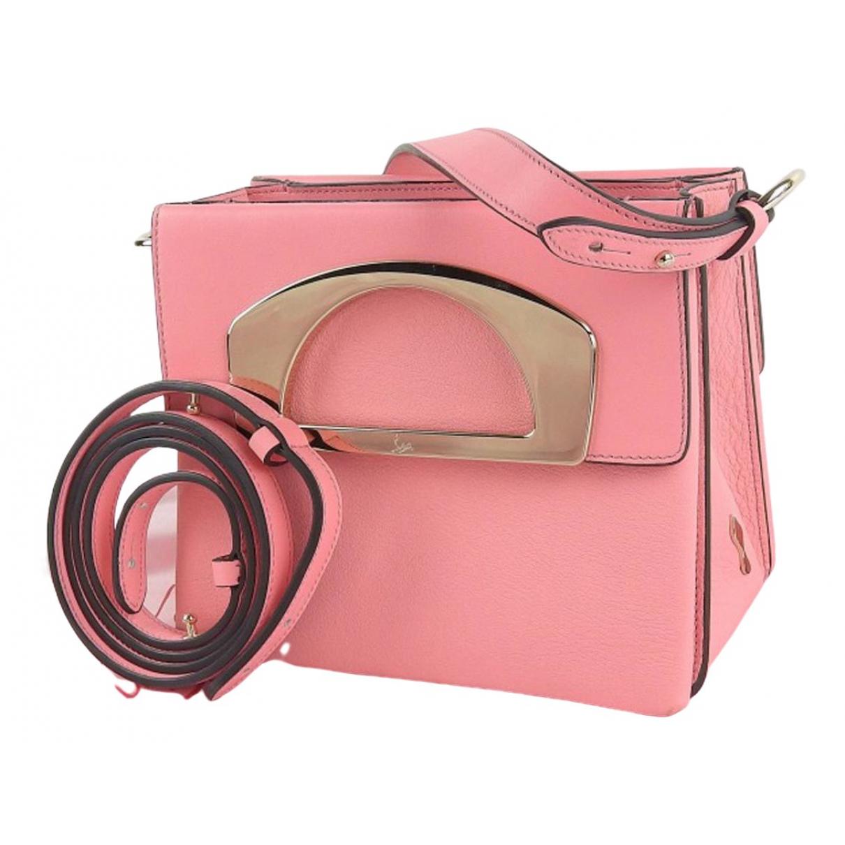Christian Louboutin Passage Pink Leather handbag for Women \N