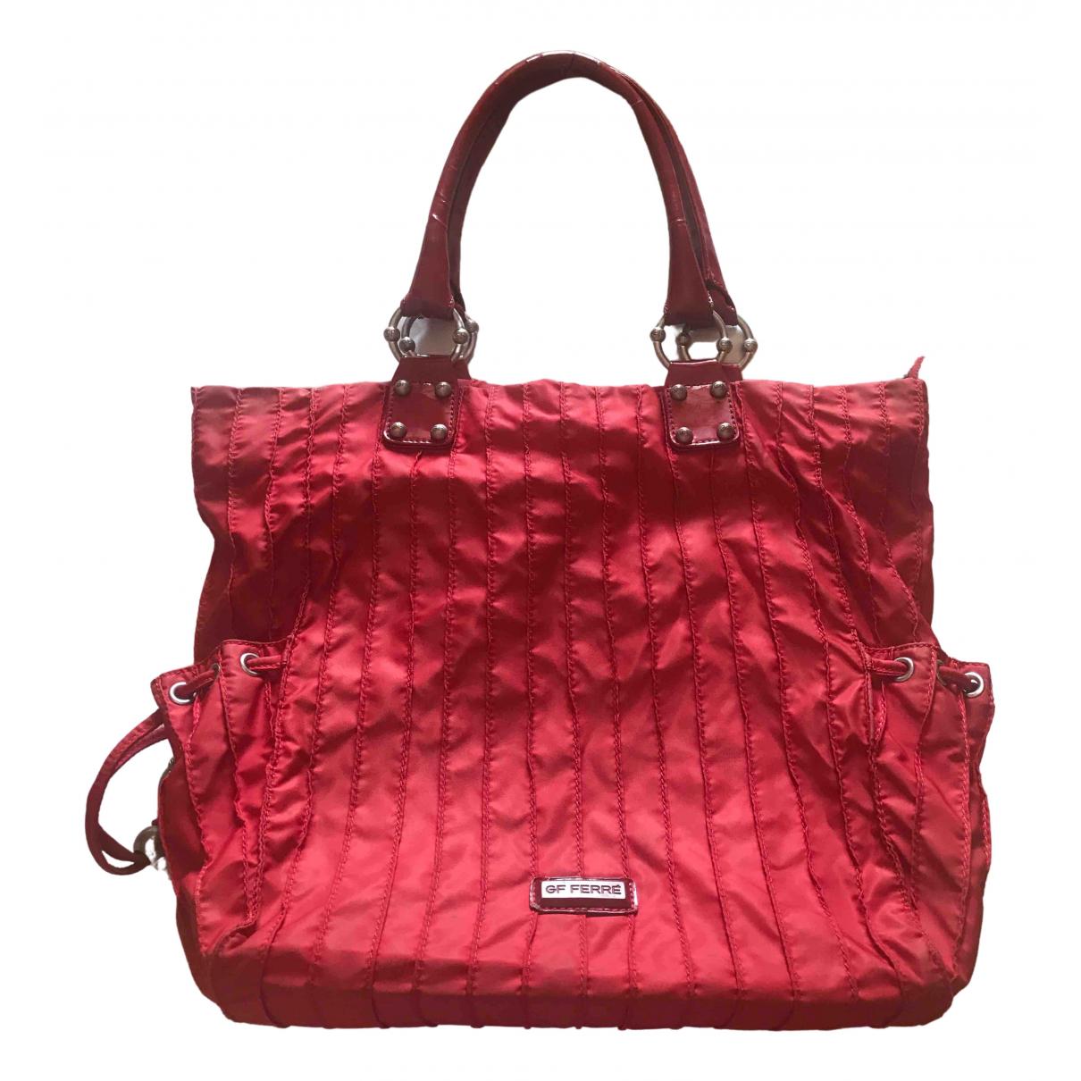 Gianfranco Ferré \N Red Cloth handbag for Women \N
