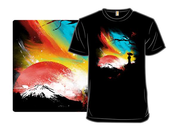Sunset On Mt. Fuji T Shirt