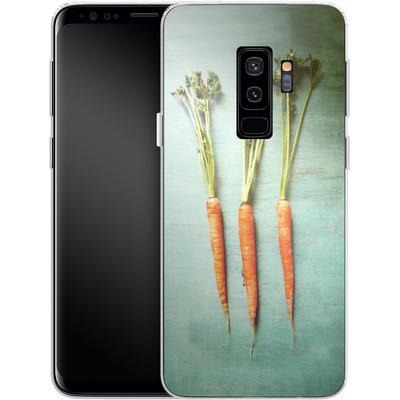 Samsung Galaxy S9 Plus Silikon Handyhuelle - Three Carrots von Joy StClaire