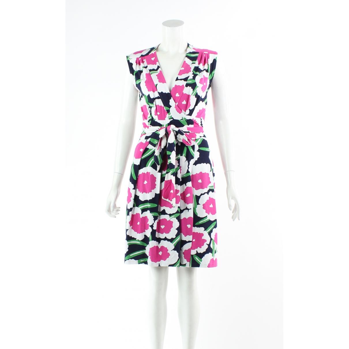 Diane Von Furstenberg \N Kleid in  Bunt Synthetik